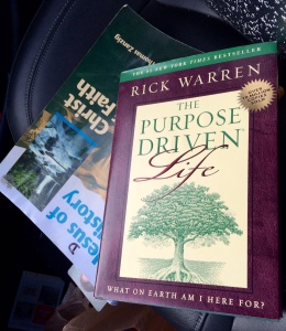 Goodwill and Purpose Driven Life Book