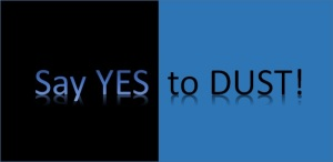 say yes to dust for blog
