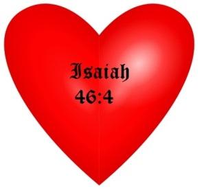 heart isaiah 46.4