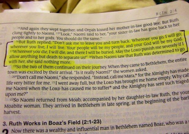 ruth scripture