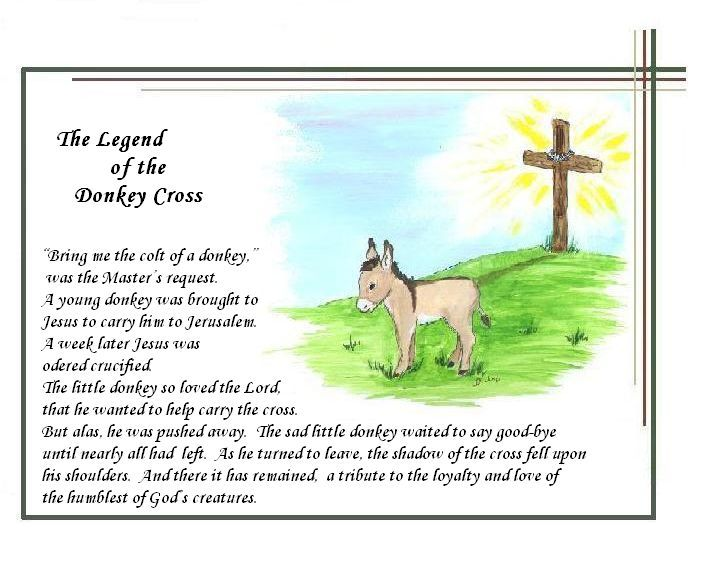 The Legend of the Donkey's Cross